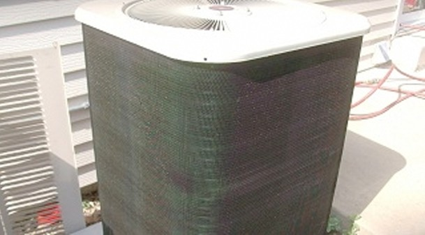 clean condensor coil